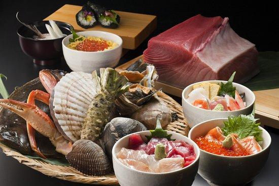 Abuta-gun, Japan: Seafood