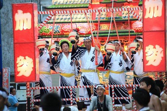 Noshiro, Japão: 能代七夕「天空の不夜城」
