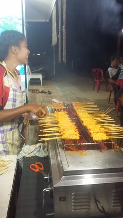 Bophut, Thailand: This was the best satay chicken we had in Thailand by far