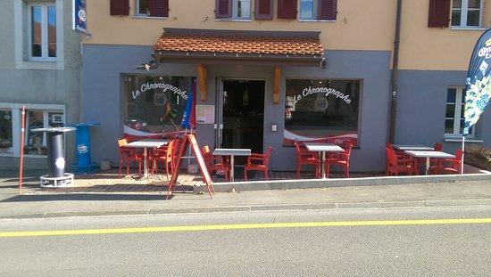 Le Brassus, Zwitserland: Le Chronographe