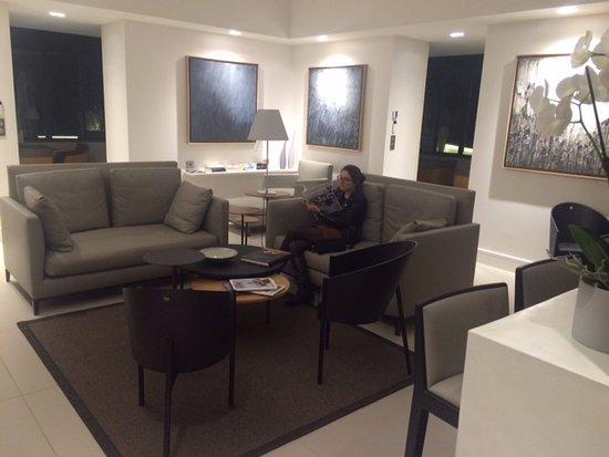 Autignac, Francia: Livingroom