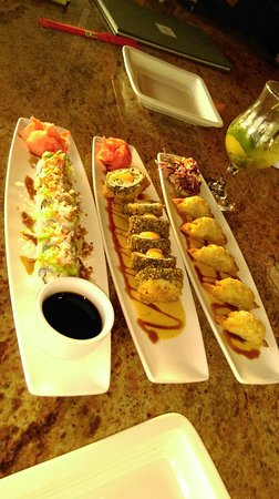 Roy's - Downtown Naples: Sushi and dumplings