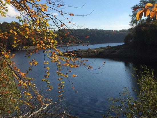 Ploerdut, France : Lac de Guerledan