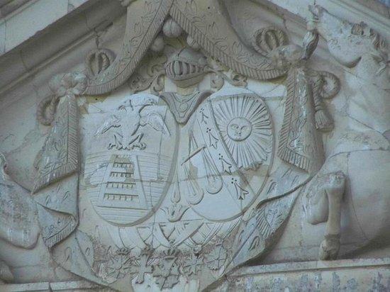 Château de Vaux : Armes de la famille Maupas
