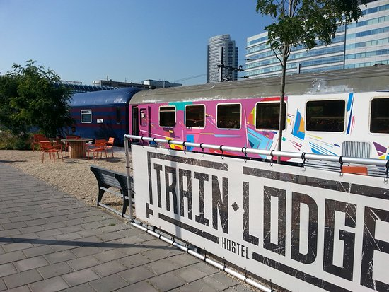Train lodge updated 2017 hostel reviews price for Train hotel amsterdam