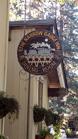 Narrow Gauge Inn : the restaurant