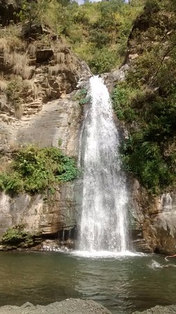 Dhokane waterfall, about 30 km from Nathuakhan