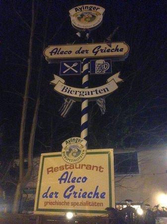 Restaurante Aleco der Grieche: Aussenansicht