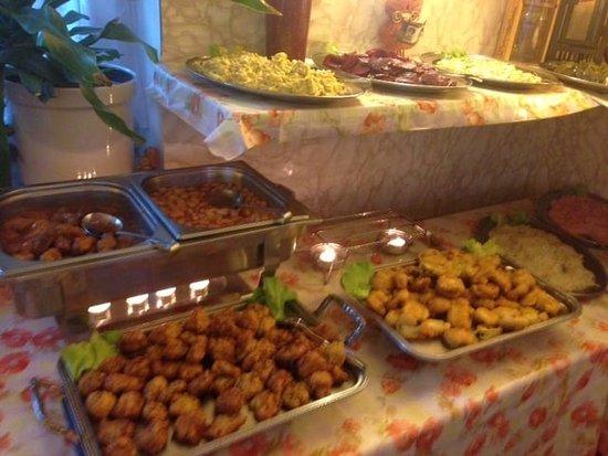 Restaurante Aleco der Grieche: Vorspeisenbuffet