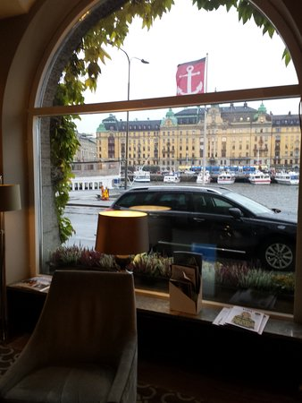 Radisson Blu Strand Hotel, Stockholm: View from the lobby
