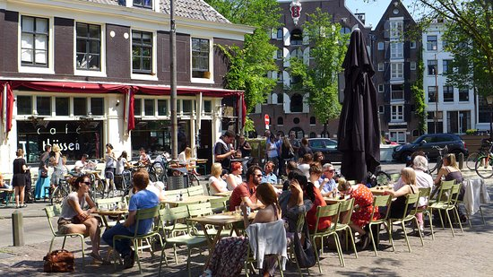 Photo of Modern European Restaurant Cafe Thijssen at Brouwersgracht 107, Amsterdam 1015 GD, Netherlands