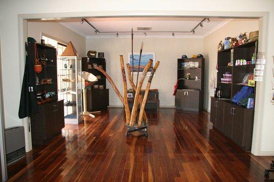 Mungo Lodge: Reception Souveniers