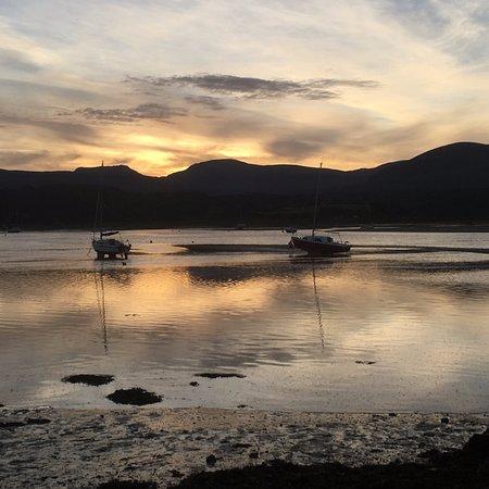 Dawn on Llandanwg beach