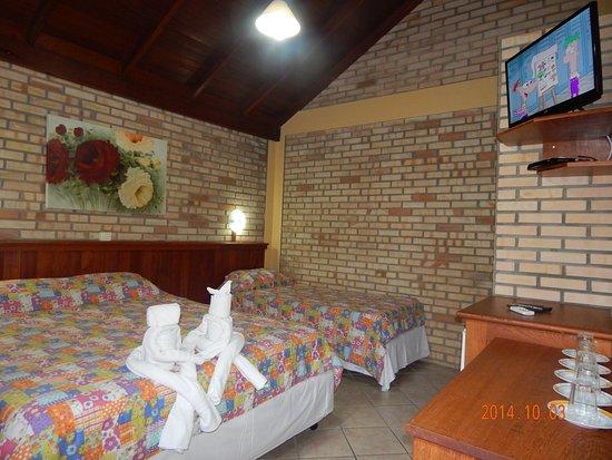 Hotel Pousada Silene: Quarto Triplo