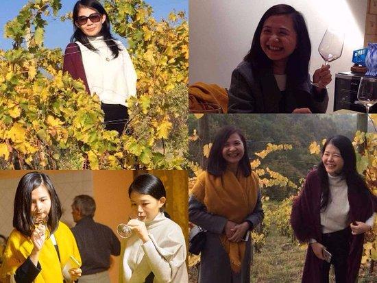 Trémolat, France : Lisa & Echo wine tasting in Piedmont with Duck & Truffle