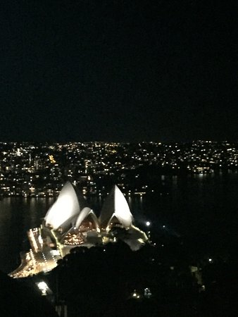 InterContinental Sydney: Opera House from the Hotel terrace