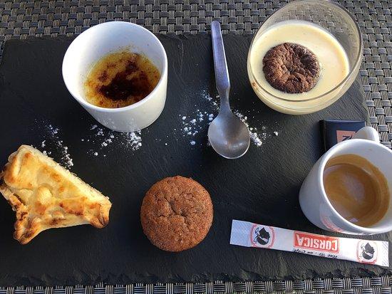 Pianottoli-Caldarello, Fransa: Il reste encore un peu de place pour le café gourmand !!!