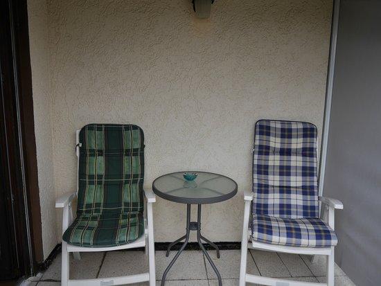 Landhotel Sonnenstube : Die Loggia