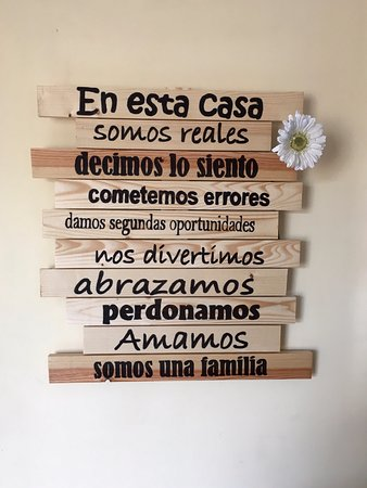 Frases En La Recepción Del Restaurante Picture Of Moli Den