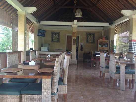 Villa Pelangi Sidemen: Das Restaurant