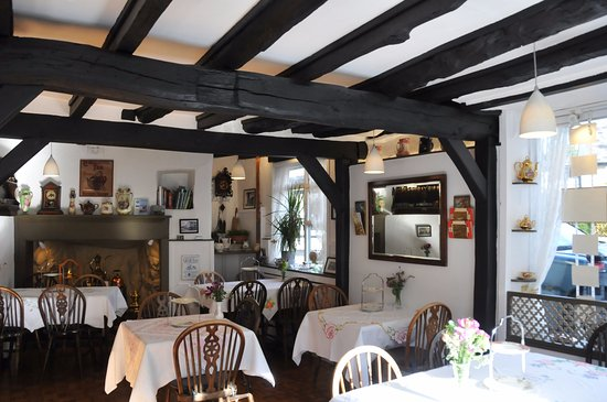 Moretonhampstead, UK: Tea Room Interior