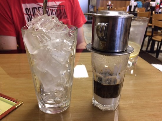 Apple Valley, MN: iced coffee with milk. Ok