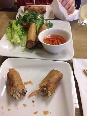 Apple Valley, MN: Eggrolls- OK- wish you got 2 large ones instead of 4 small ones.