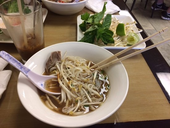 Apple Valley, MN: Pho- steak and meatball- OK