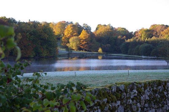 Aubusson, France: L'étang au petit matin