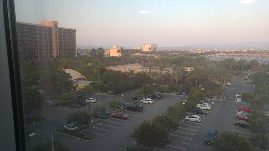 Hilton Anaheim: Vista del pasillo de la habitación