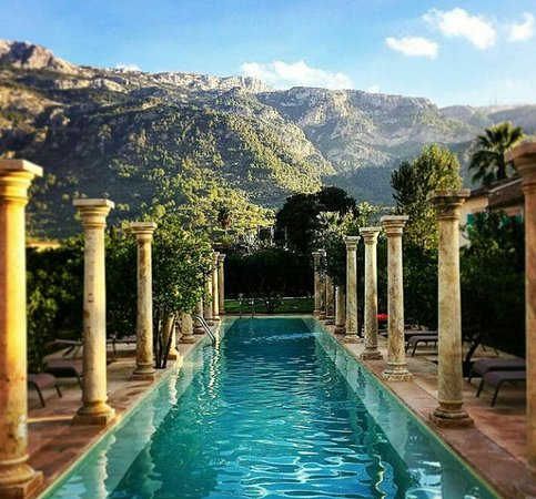 Finca Ca's Sant: Our second pool