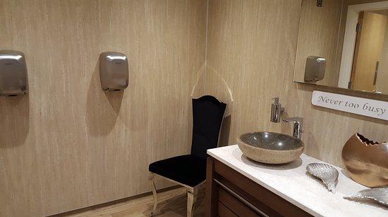 The Arches Restaurant U0026 Coffee Shop: Stylish Ladies Bathroom