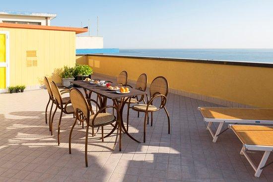 Hotel Mignon Riccione : Terrazza Panoramica