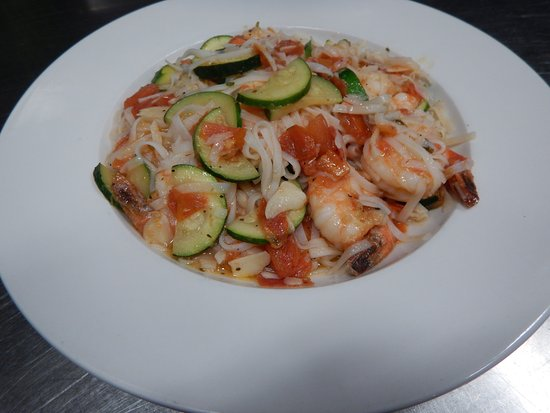 Vineland, NJ: GF Shrimp and Zucchini