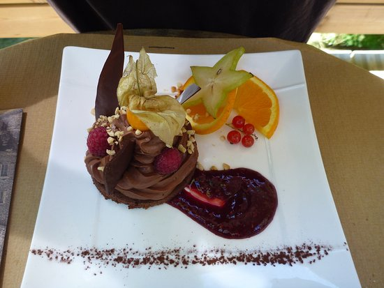 Ombleze, Fransa: Dessert tout choco