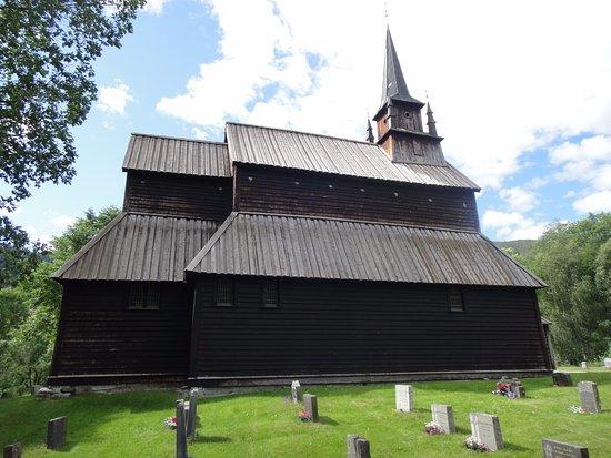 Kaupanger, Norvège : zijaanzicht