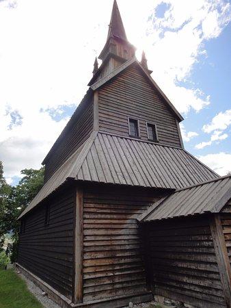 Kaupanger, Norvège : Toren met ingang