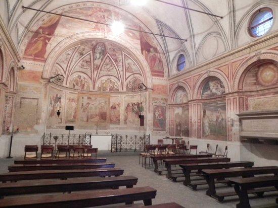 Vimodrone, Italy: Gli affreschi interni