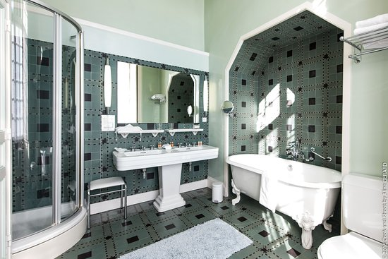 salle de bain chambre de luxe art d co photo de ch teau de noirieux briollay tripadvisor. Black Bedroom Furniture Sets. Home Design Ideas