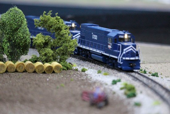 McPherson, KS: Model Train Exhibit