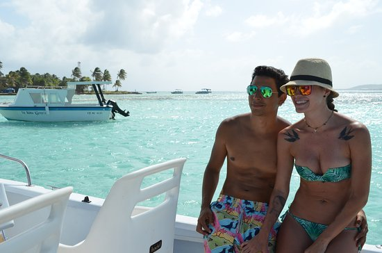 San Andres Diving & Fishing: bote expreso FLY HIGH