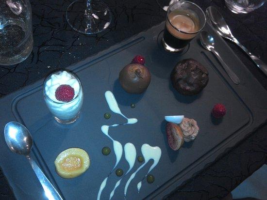 Cabestany, France: Café gourmand