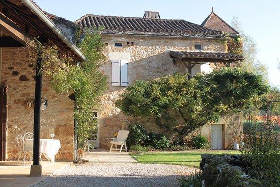 Prayssac, Frankrike: aperçu de la maison d'habitation