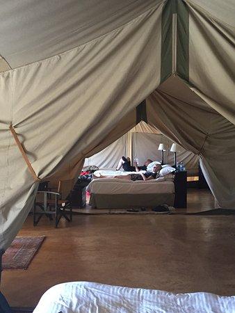 Entumoto Safari C& Beautiful tents - amazing view & Beautiful tents - amazing view - Picture of Entumoto Safari Camp ...