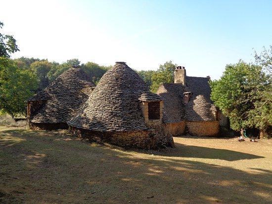 Saint-Andre-d'Allas, ฝรั่งเศส: cabanes du Breuil