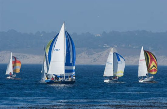 Monterey County, CA: Sailing on Monterey Bay