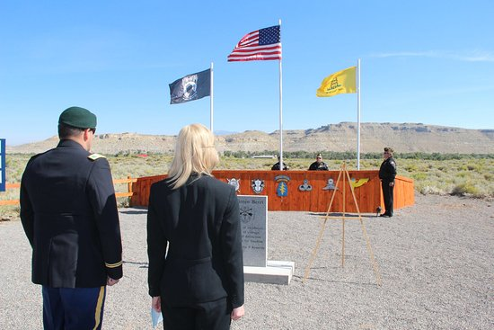 US Army Green Beret Memorial, Crowheart, WY