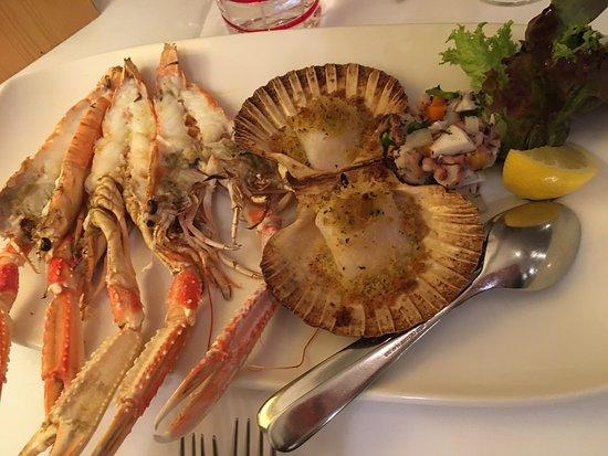 osteria d atri sea food platter