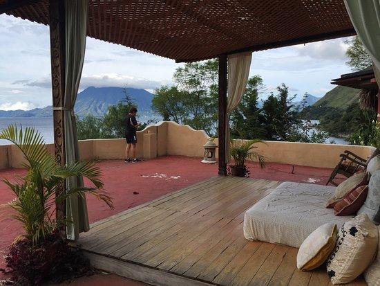 Villa Sumaya: This is an open observation area