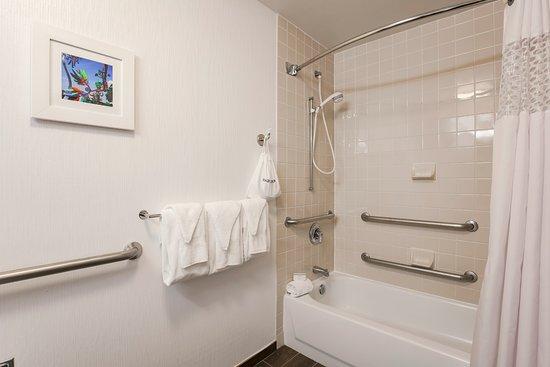 Hampton Inn Houston Hobby Airport: Bathroom